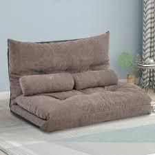 Porch   Den Owyhee Adjustable Folding Sofa Bed with 2 Pillows  Retail 215 99