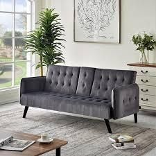 Carson Carrington Salsater Convertible Sleeper Sofa Bed  Retail 319 49 black
