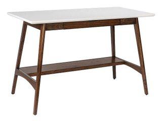 Madison Park Avalon White Pecan Desk  Retail 377 99