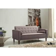 Carson Carrington Haparanda Tufted Grey linen Sofa  Retail 457 99