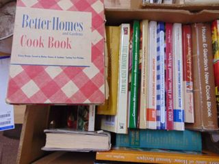 large Selection of Cook Books