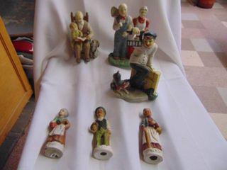 3 GEI Ceramic Figurines and More