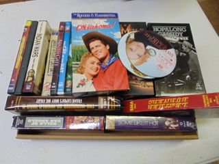 VHS s and DVD s