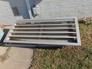 2   72  Aluminum building Vents