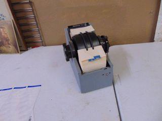 Rolodex Model No  2400 S