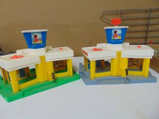 Fisher Price Toy Helicopter Port