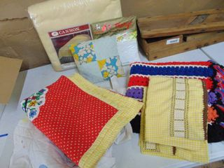 Baby Quilt and Embroidery
