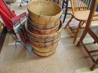 5  Bushel Baskets