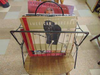Albums in Vintage Rack
