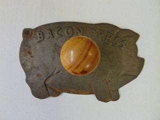 Pig Shaped Bacon Press