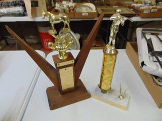 Shooting and Horse Trophy