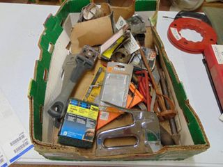 Staple Gun and Miscellaneous Household Items