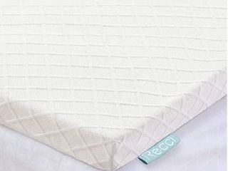 RECCI 2 Inch Memory Foam Mattress Topper King  Pressure Relieving Bed Topper  Memory Foam Mattress Pad with Bamboo Viscose Cover   Removable Washable CertiPUR US King Size