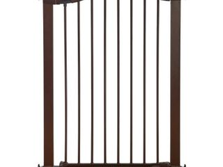 Munchkin Easy Close Tall   Wide Metal Baby Gate Bronze   29 5 51 6   Not Inspected
