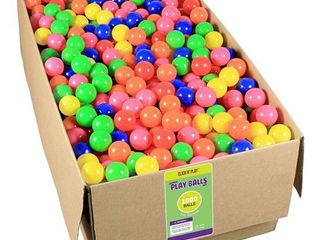 Click N  Play Phthalate Free   BPA Free  Crush Proof Ball Pit Balls  Bulk 1000 pack   Quantity Not Inspected