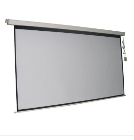 Projection Screen Electric Screen 120    with Remote    Not Inspected