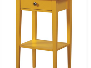 Dalton Night Stand Color Yellow   Not Inspected   Item   033 N