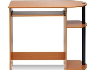 Furinno Simplistic Easy Assembly Computer Desk  Multiple Colors   Not Inspected