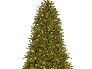 6 5ft National Christmas Tree Company Pre lit Dunhill Fir Artificial Christmas Tree with 600 Dual Color lED lights   Powerconnect