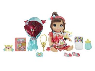 Baby Alive Once Upon a Baby  Forest Tales Forest luna  brown straight hair