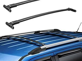 BougeRV Car Roof Rack Cross Bars for 2016 2019 Ford Explorer with Side Rails  Aluminum Cross Bar Replacement for Rooftop Cargo Carrier Bag luggage Kayak Canoe Bike Snowboard Skiboard