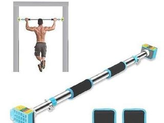 Ulalov Pull Up Bar  Doorway Pull up Bar No Screw  Strength Training Pull Up Bars with Safety locking Catch  Heavy Duty Home Fitness Door Exercise Bar
