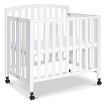 Davinci Dylan Folding Portable 3 In 1 Mini Crib And Twin Bed   White