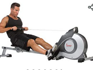 Sunny Health and Fitness Magnetic Rowing Machine   Not Inspected