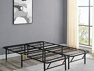 Amazon Basics Collapsible Platform Bed   Not Inspected