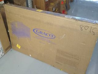 Graco Solano 4 in 1 Convertible Crib with Drawer White   Not Inspected