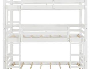 Avenue Greene Nola Solid Wood Triple Floor Bunk Bed  Retail 489 99
