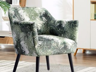 Ovios Accent Chair For living Room Floral