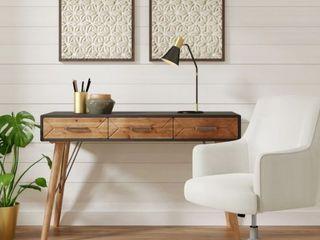 Carson Carrington laggarbo Gray Desk Console Table  Retail 367 49