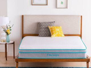 Essentials 10 inch Spring and Memory Foam Hybrid Mattress   linenspa   Twin Xl