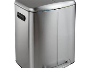 Happimess Marco Soft Touch lid Double Bucket Trash Can