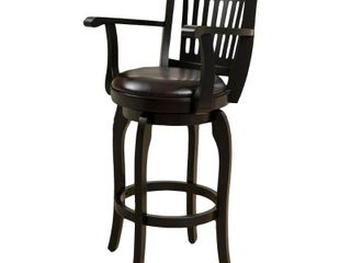Prescott 45 inch Armed Bonded leather Swivel Barstool by Christopher Knight Home  Retail 154 99