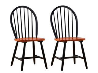 Farmhouse Dining Chair  Set of 2   Retail 131 49
