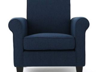 Freemont Fabric Club Chair by Christopher Knight Home  Retail 222 09