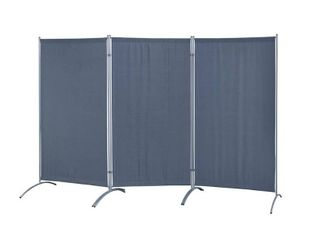Galaxy Indoor Water Resistant 3 panel Indoor Room Divider  Retail 106 99