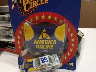 29 Kevin Harvick Goodwrench  America Online Hood 2002 Winners Circle 1 64