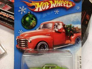2008 Hot Wheels Christmas Santa Holiday Rods Set lot Olds Oldsmobile 442 W 30