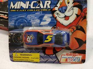 Kellogg s Racing Mini car Die Cast Collectible Nascar 2001 T05