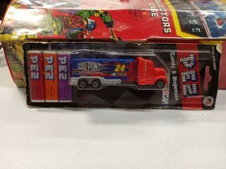 NASCAR DuPont number 24 truck with Pez dispenser