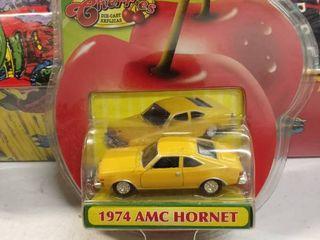 Motormax fresh cherries die cast replicas 1974 AMC hornet