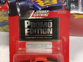 Johnny lightning promo Edition limited edition diecast collectors greater Seattle Toy Show 1998 70s Boss 302 1 of 3000