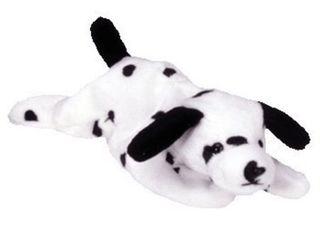 Ty Beanie Baby Sparky Dog with error