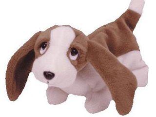 TY Beanie Baby   TRACKER the Basset Hound  7 inch