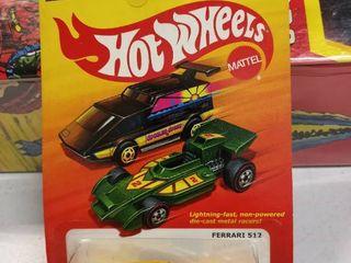 the hot ones Hot Wheels Ferrari 512