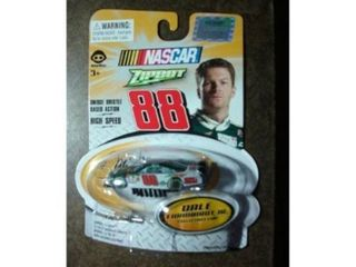Nascar Zipbot   88 Dale Earnhardt Jr Collectible Car by Wow Wee