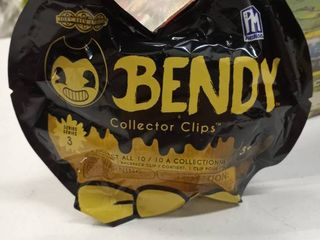 Series 3 Bendy And The Ink Machine Dark Revival Cartoon Collector Clips